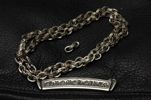 CHROME HEARTS ペーパーチェーンネックレス
