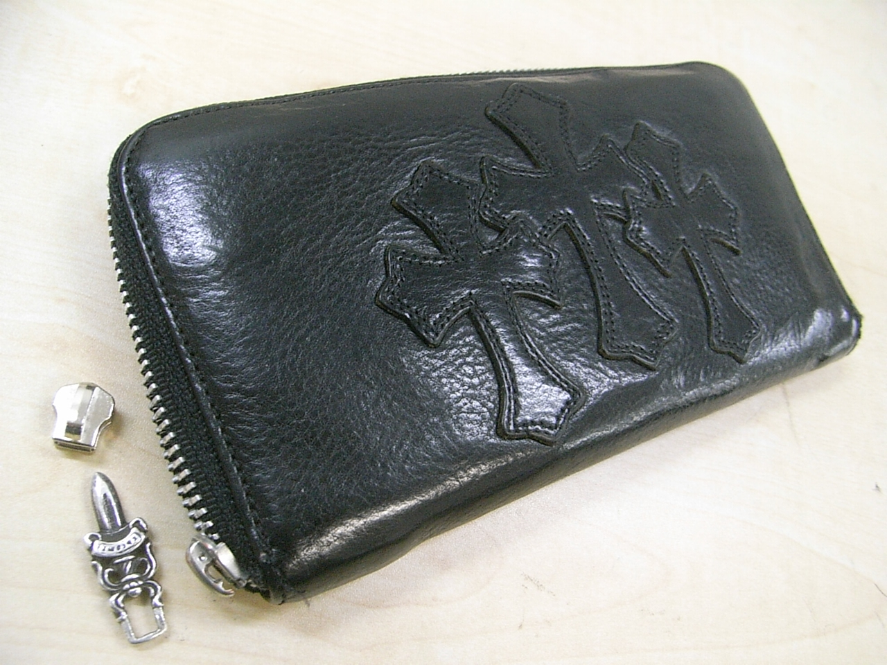 修理前の財布